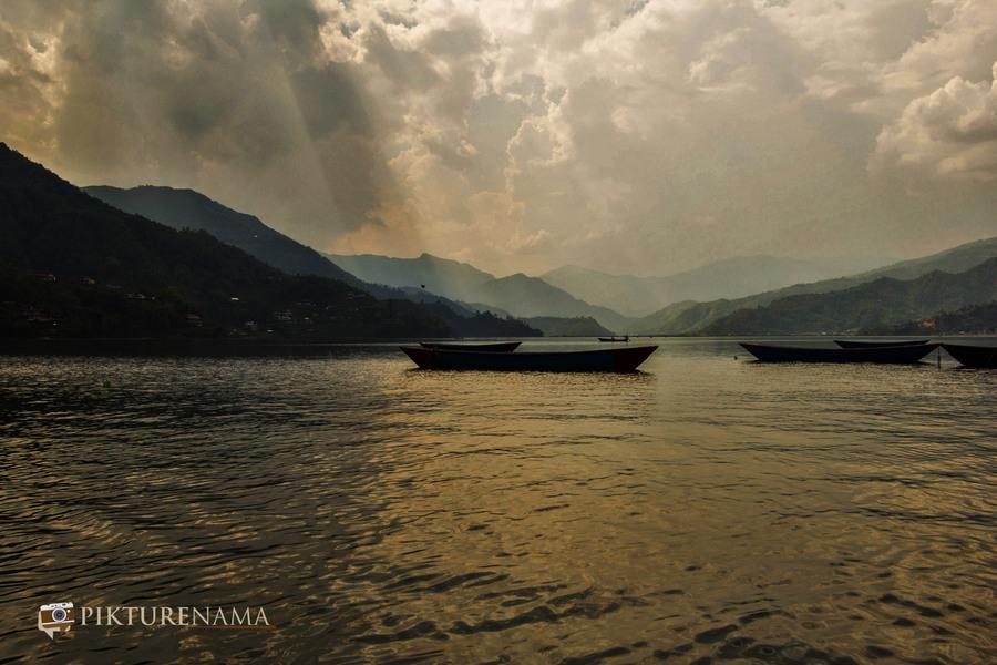 Phewa Lake Pokhara boat ride - 11