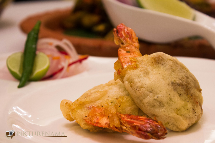 Prawn Kobiraji at Oberoi Grand Kolkata Pujor Menu