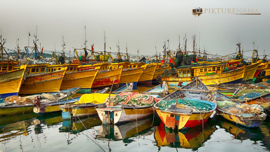 Vizag fishing harbour 16