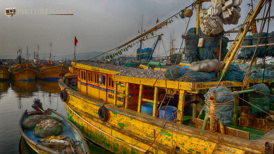 Vizag fishing harbour 4