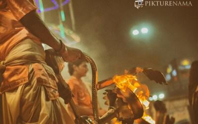 Varanasi Ganga Aarti in evening through my camera and photography tips
