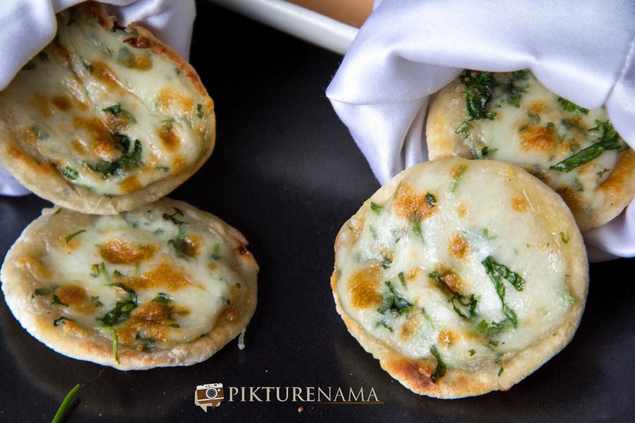 New menu at The Park Kolkata mini cheese kulcha