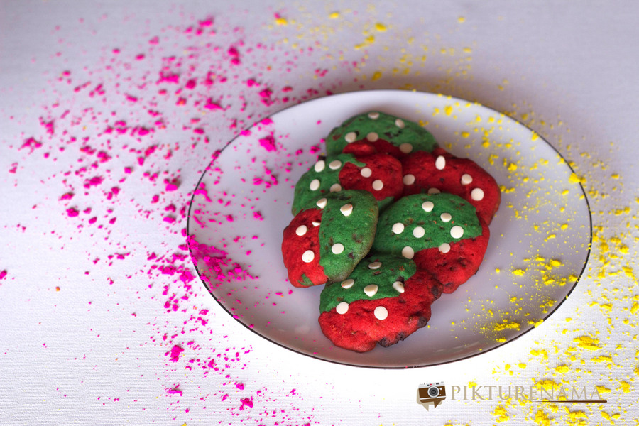 Colourful cookies - 1