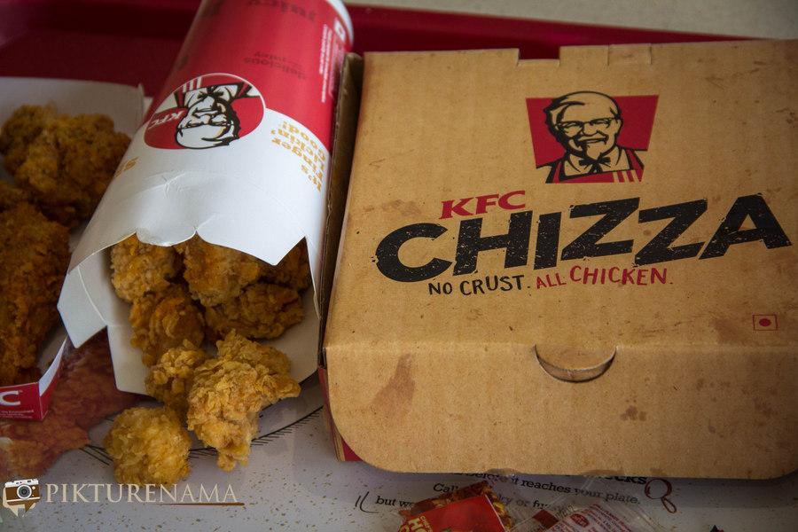 KFC Chilli Chizza