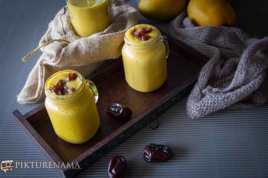 mango date smoothie - 1