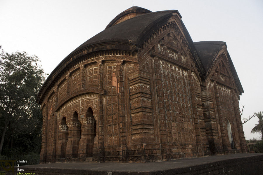 Bishnupur- Terracotta- work- Jore Bangla temple