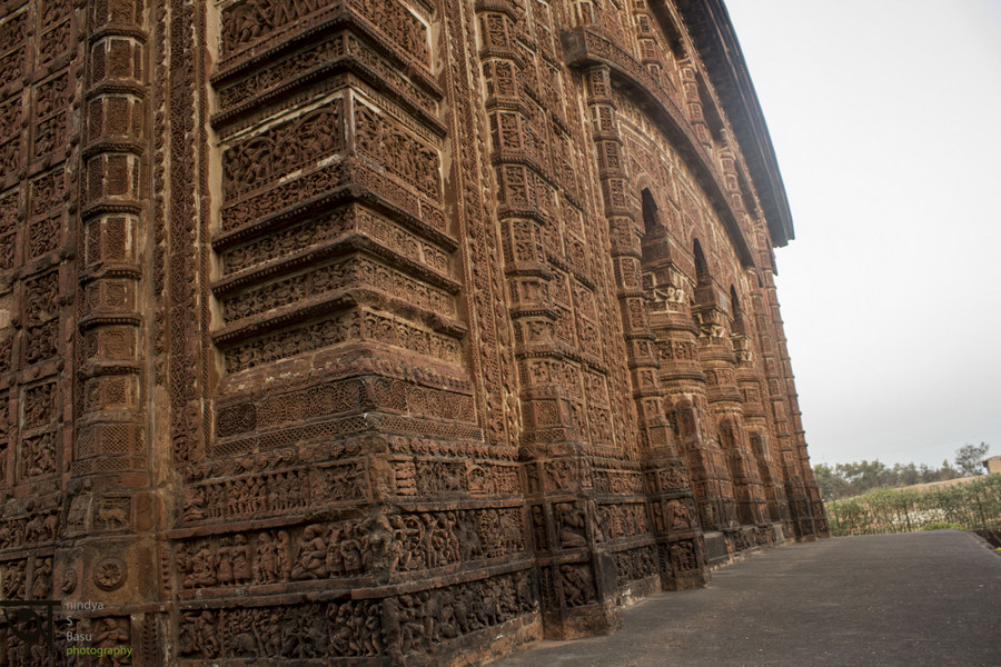 Bishnupur- Terracotta- work- temple