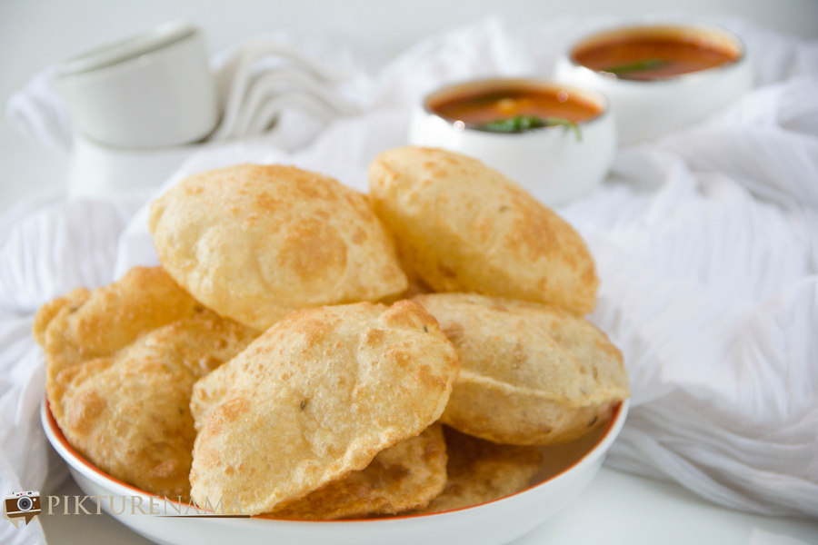 Bedmi Poori as a Sunday breakfast