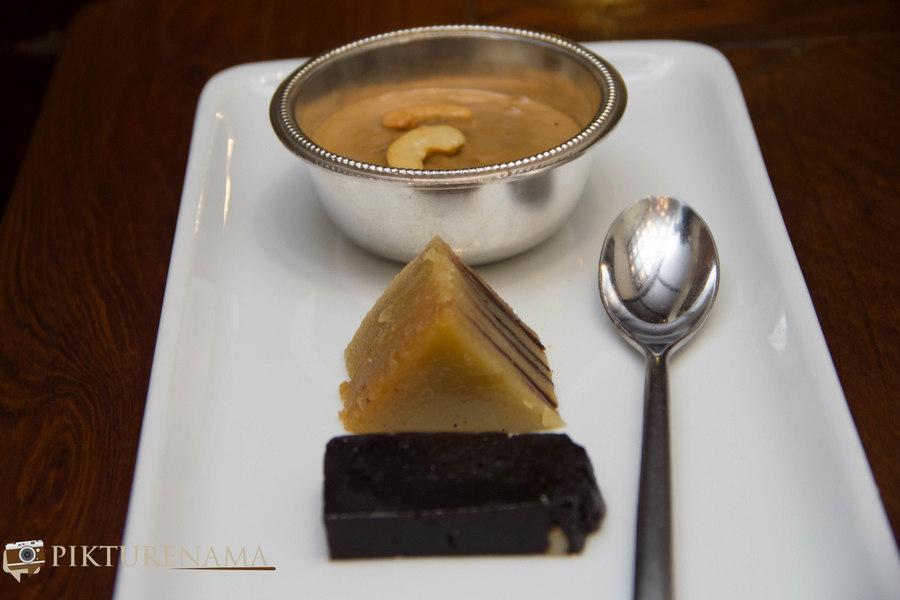 Pictures of Karavalli restaurant desserts
