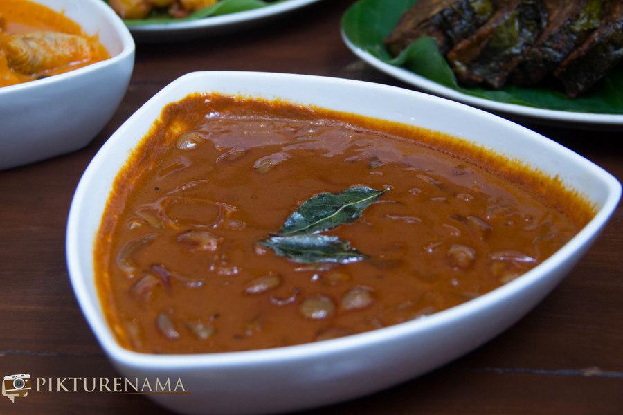 Pictures of Karavalli restaurant Mango curry