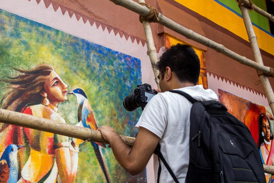 Kolkata Street Art festival 25