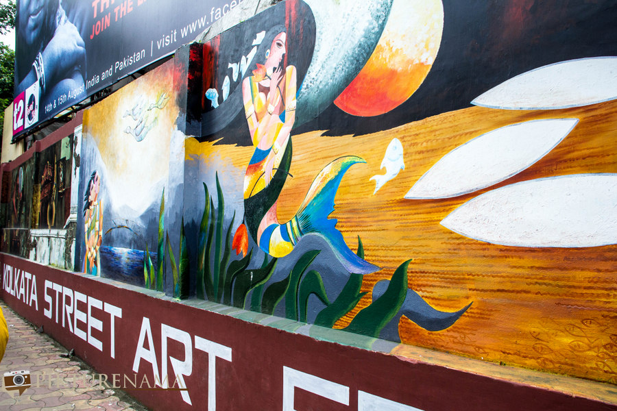 Kolkata Street Art festival 10