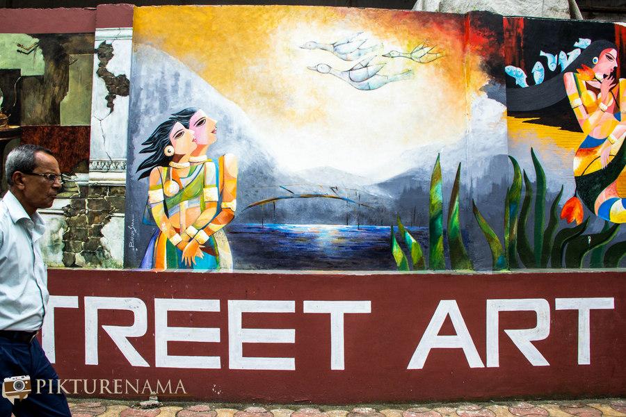 Kolkata Street Art festival 11