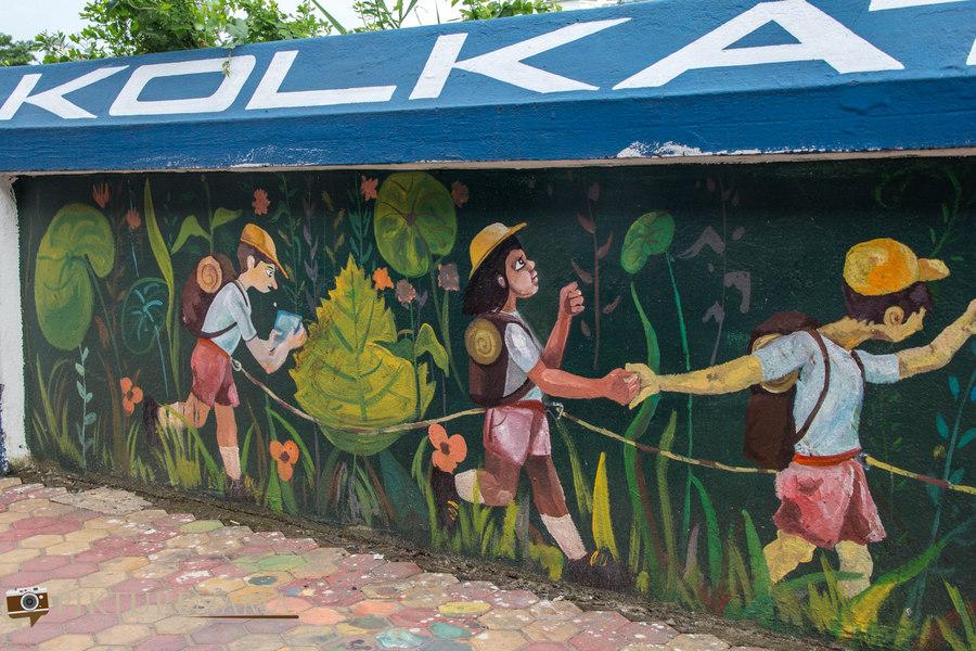 Kolkata Street Art festival 19