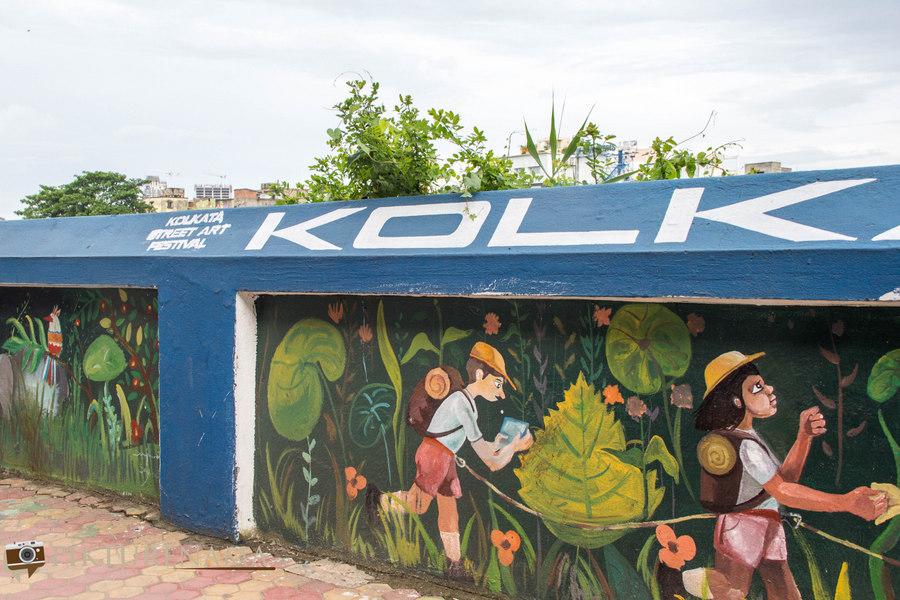 Kolkata Street Art festival 20