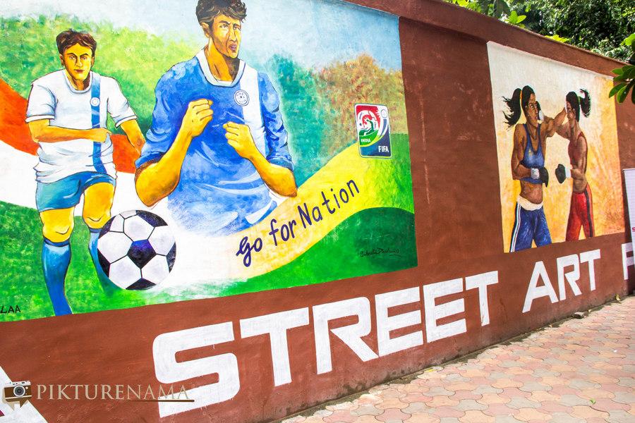 Kolkata Street Art festival 3