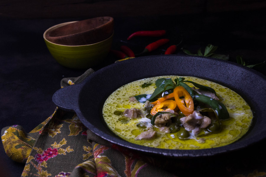 How I learnt to cook a Thai green curry