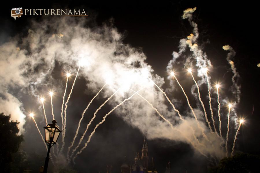 HongKong Disneyland Fireworks 26