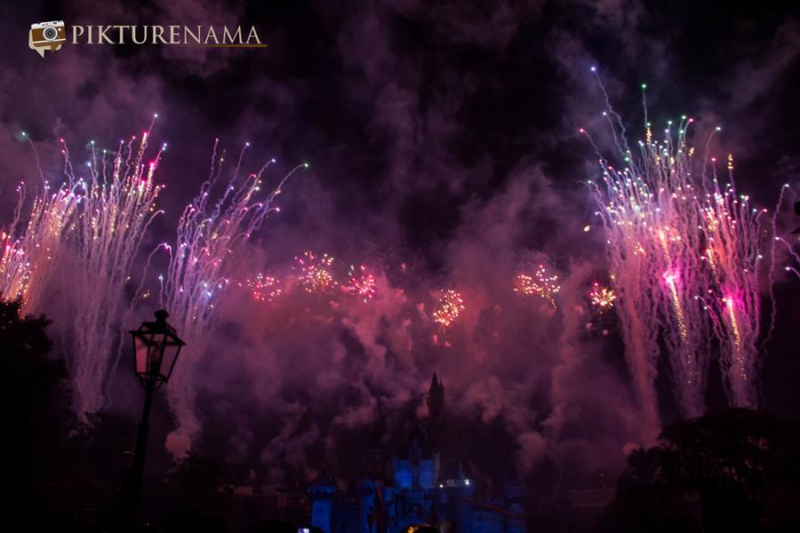 HongKong Disneyland Fireworks 27