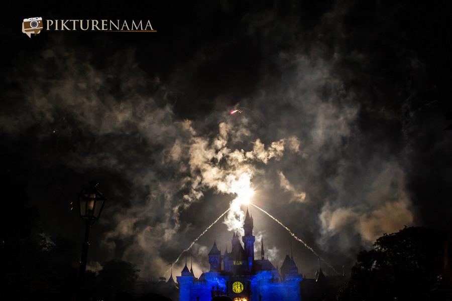 HongKong Disneyland Fireworks 6