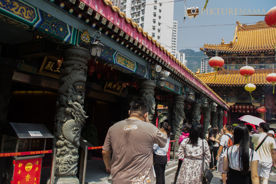 Wong Tai Sin temple HongKong and Man Mo Temple 12