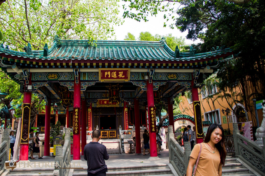 Wong Tai Sin temple HongKong and Man Mo Temple 26