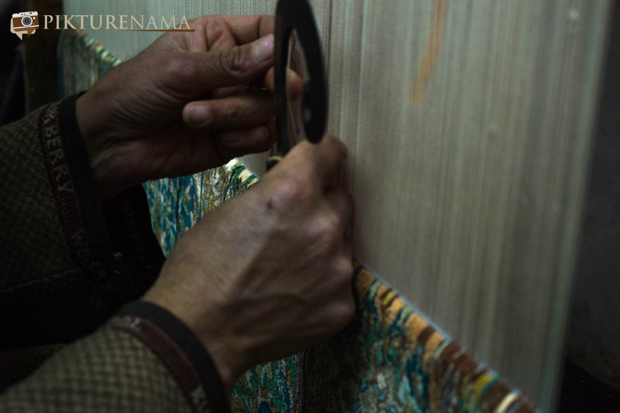 Faces of Kashmir carpet weaver 10