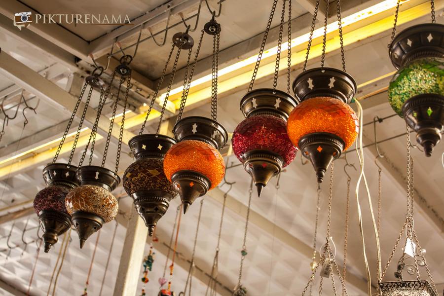 Cappadoccia_kaymakli_shops_lampshades