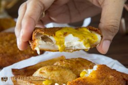kolkata style fish fry with cheese 5