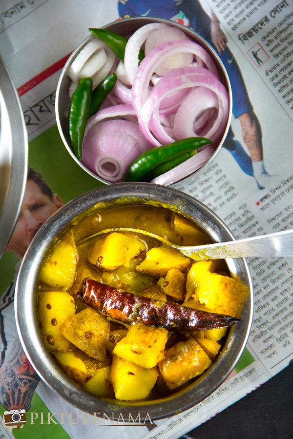 Recipe of Alur Torkari 3