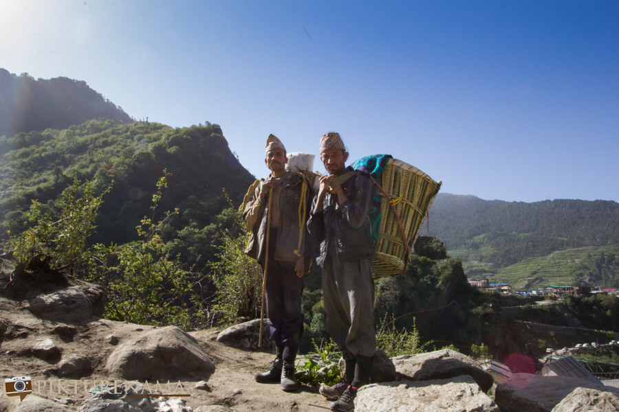 Yamunotri Trek friends on our way