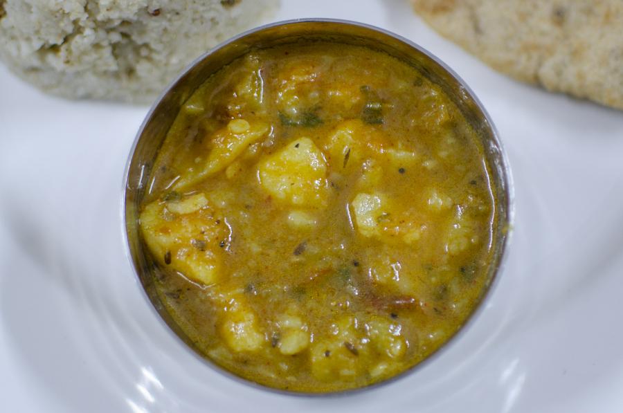 My Garhwali food sojourn Aloo ki Thechani
