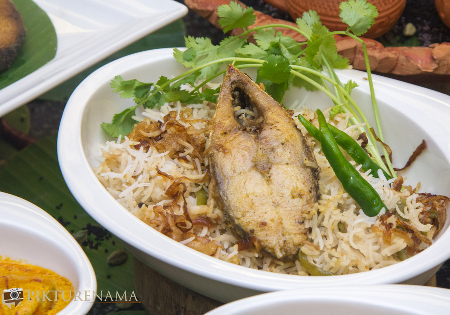 Bengal rajbari Ilish Ilish macher dum Polao