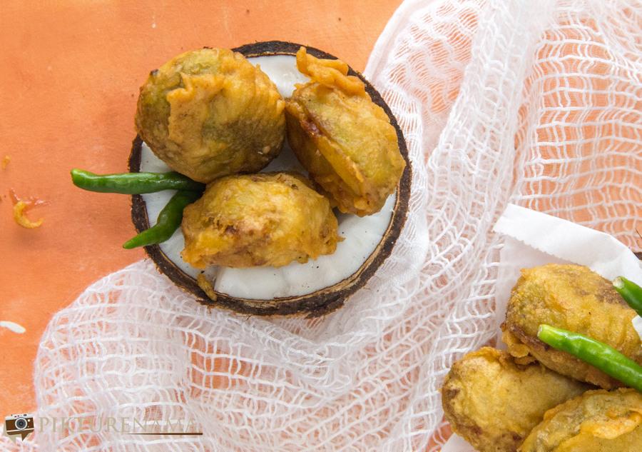 Stuffed teasel Gourd- 4