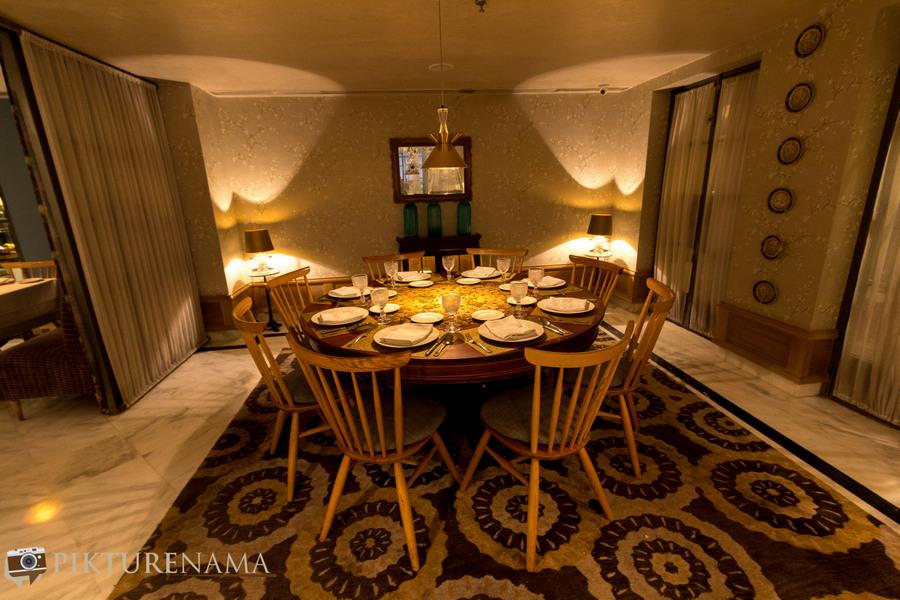 Narendra Bhawan bikaner private dining area