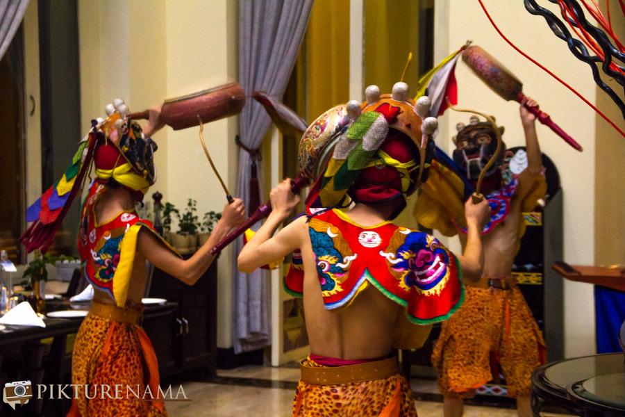 Taj Tashi thimpu traditional dance - 2