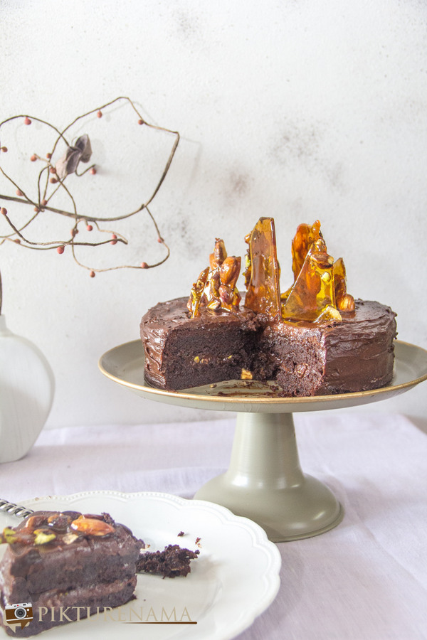 Double chocolate Mousse cake by Rachel Allen - 7