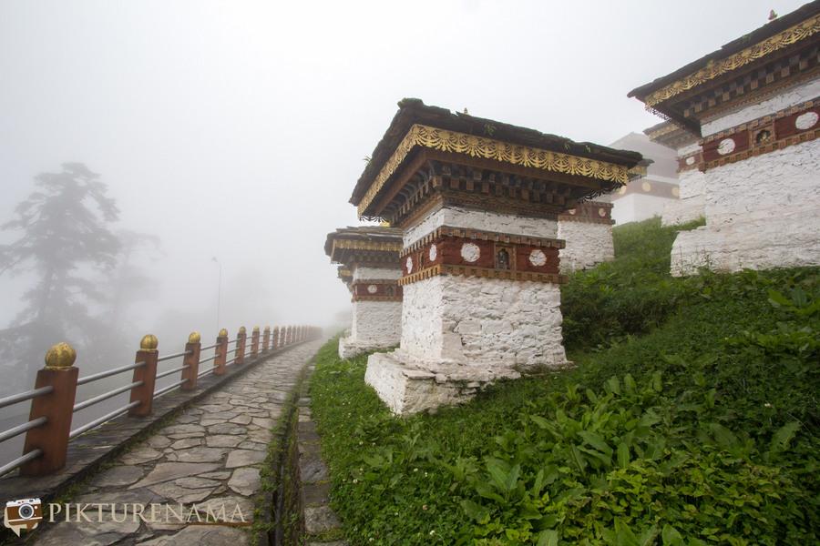 Taj Tashi Thimpu Bhutan -2 Dochula Pass