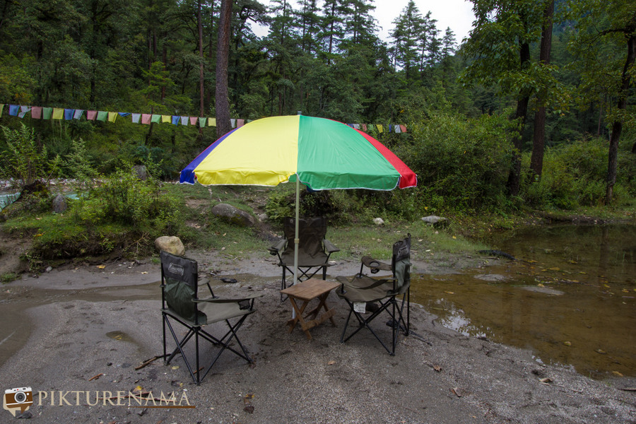 Taj Tashi Thimpu Bhutan picnic - 1