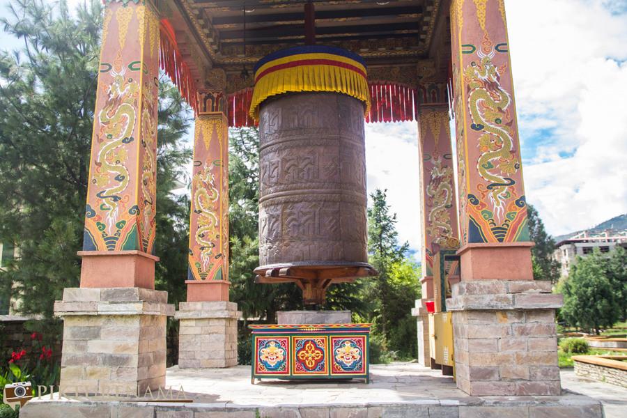 Taj Tashi Thimpu Bhutan prayer shrine