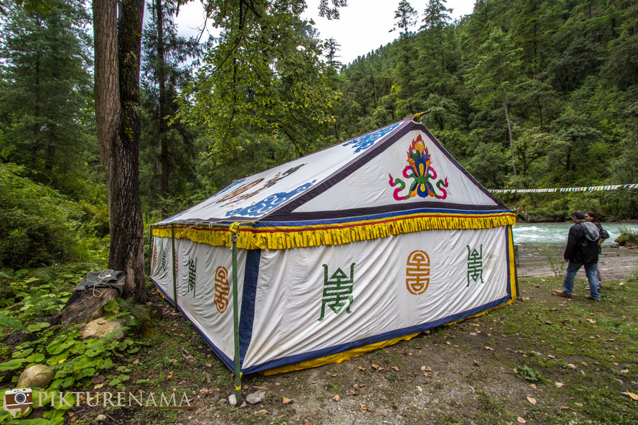 Taj Tashi Thimpu Bhutan picnic 1