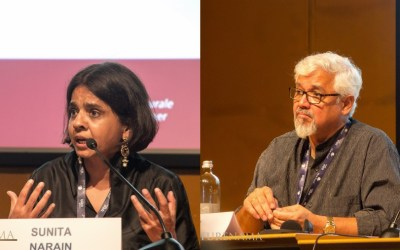Amitav Ghosh and Sunita Narain speak on Climate change at Terra Madre Salone del Gusto 2018