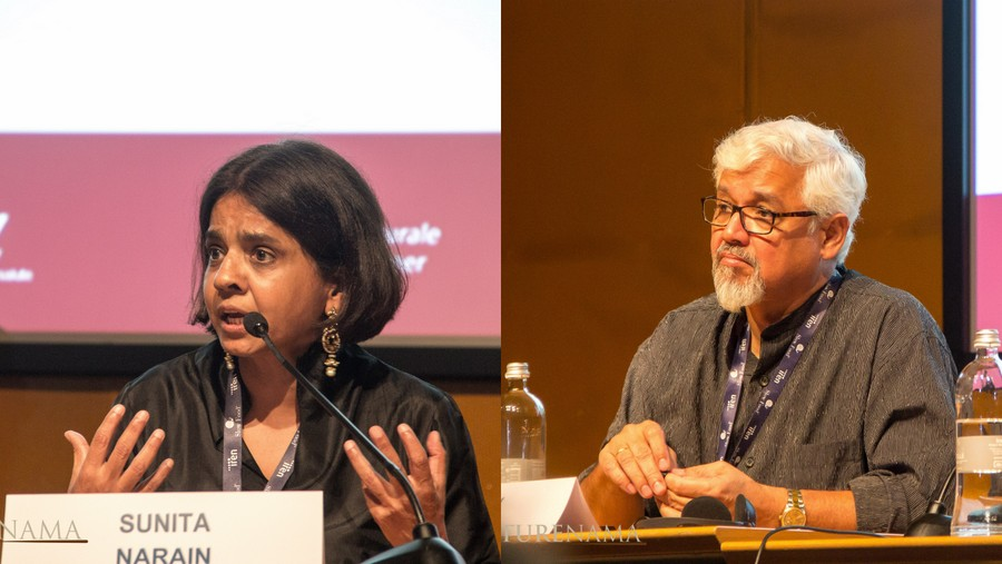 Amitav Ghosh and Sunita Narain speak on Climate change at Terra Madre Salone del Gusto 2018