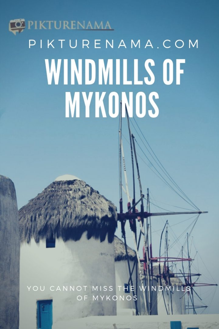 Windmills of Mykonos  - Pin - 3