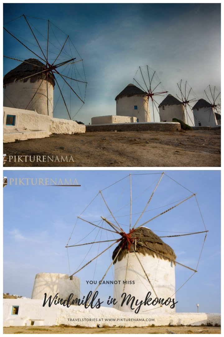 Windmills of Mykonos  - Pin - 2