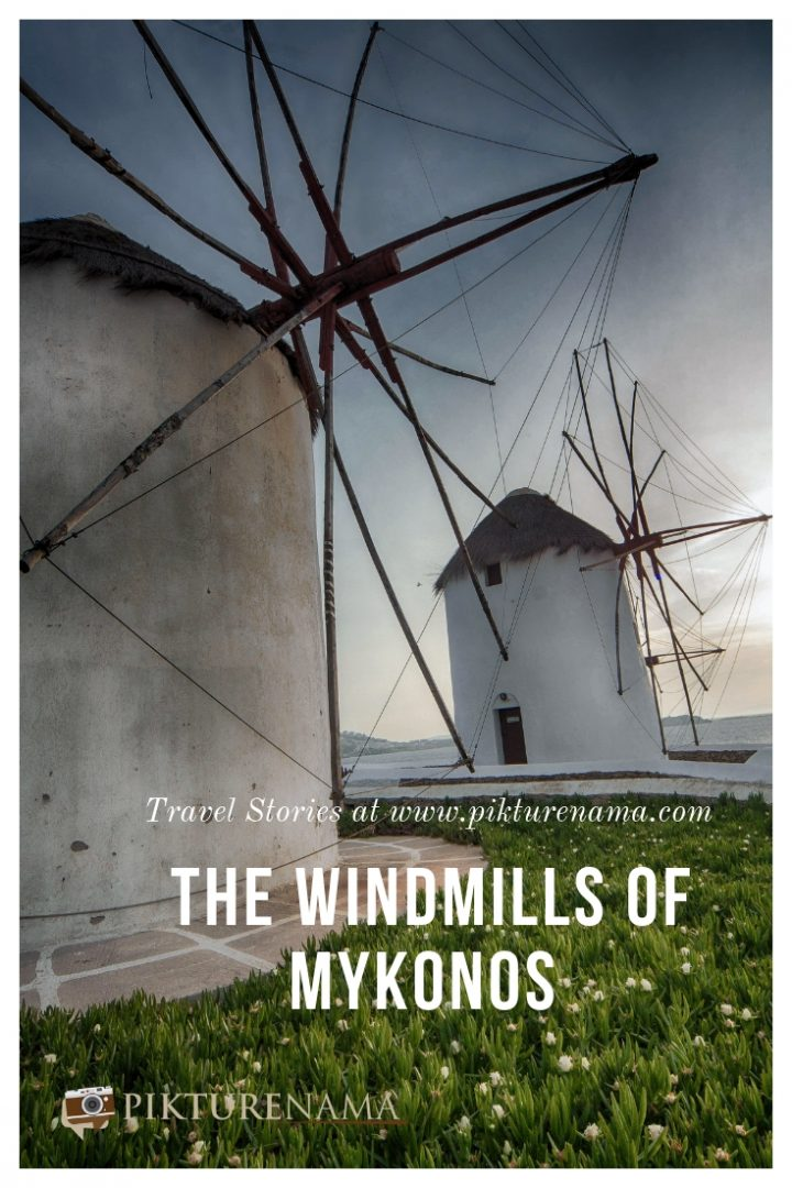 Windmills of Mykonos  - Pin - 1