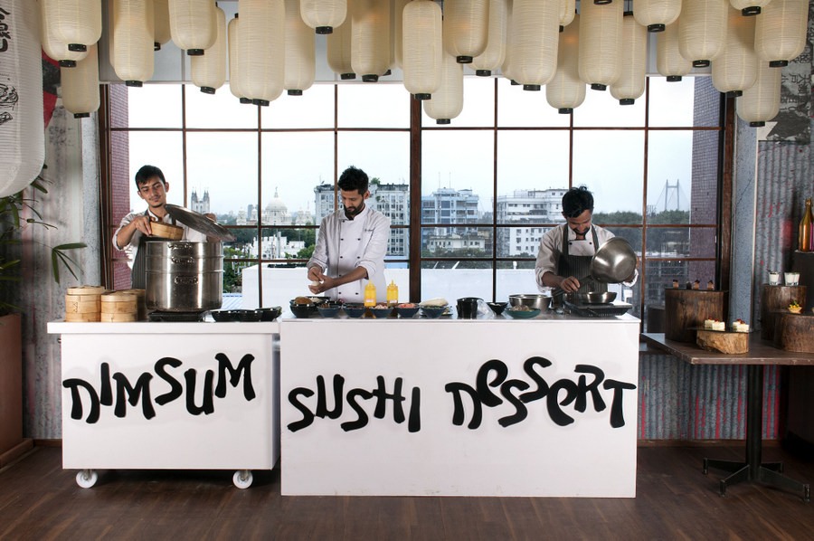 Pan Asian brunch in Kolkata - The Fatty Bao 1