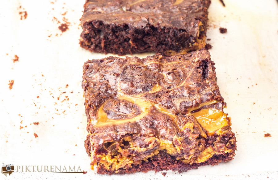 Dulce de Leche Brownies - 5