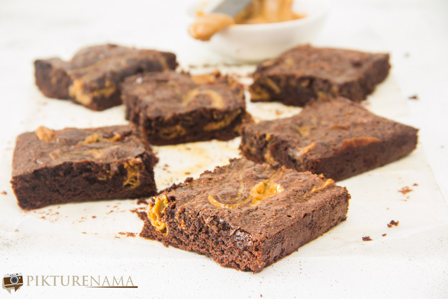 Dulce de Leche Brownies -1