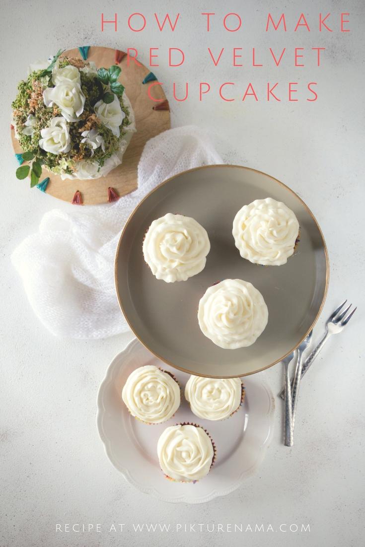 Red velvet cupcakes Pinterest - 2